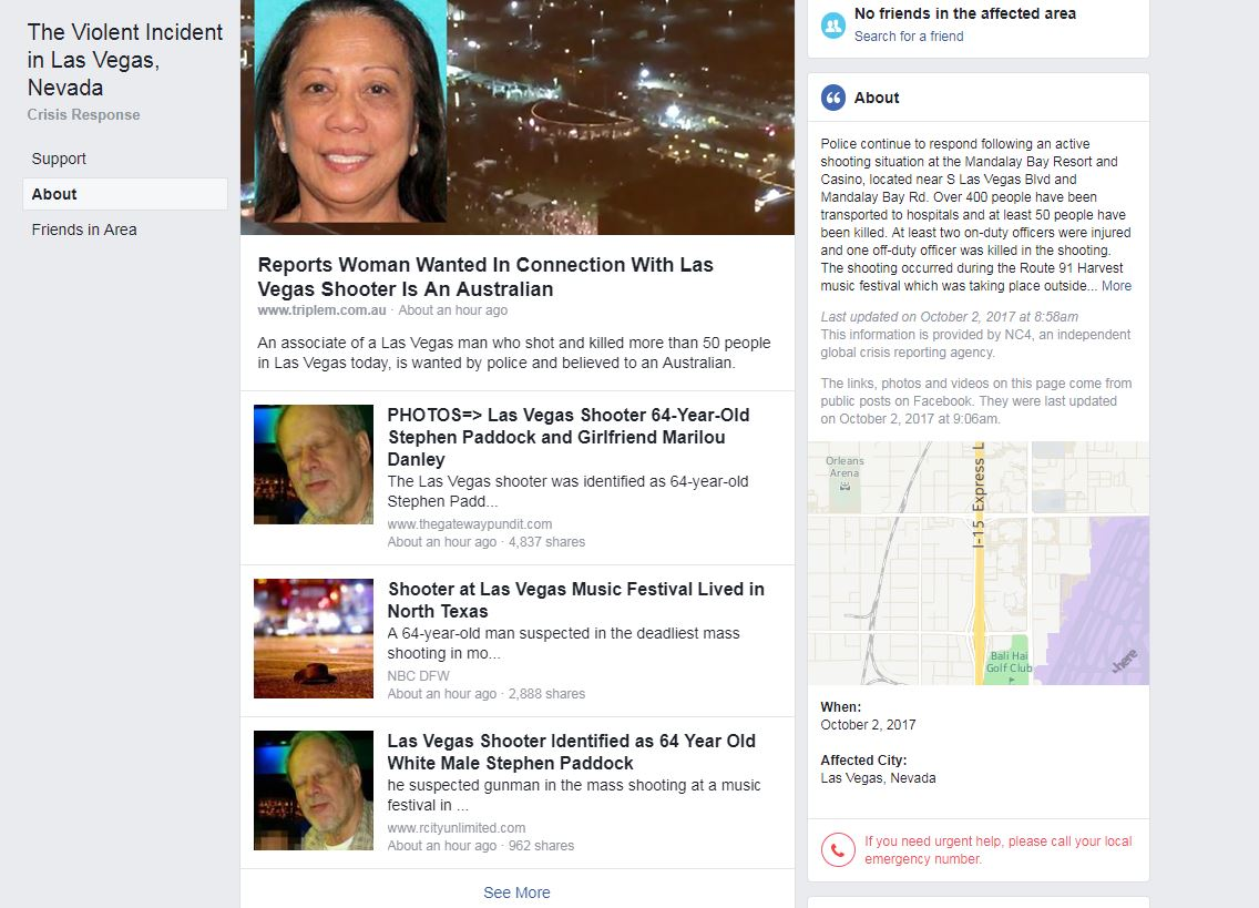 las vegas shooting shows facebook google and youtube u0027s