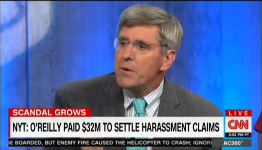 mediamatters.org - CNN's Stephen Moore's answer to sexual harassment is to never take a one-on-one meeting with a woman