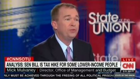 Trump administration officials use Sunday news shows to lie about GOP tax bills