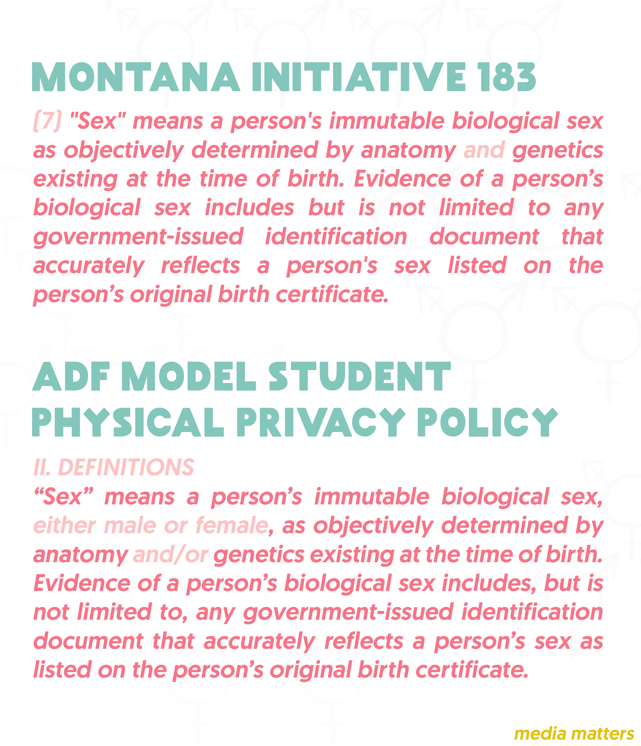 The many ways alliance defending freedom is fighting against on march 17 the montana house of representatives introduced anti trans bathroom bill hb 609 the so called montana locker room privacy act the bill is xflitez Gallery