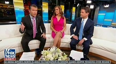 """Fox's Pete Hegseth urges Trump to """"take credit for solving global warming"""" because of cold temperatures from """"bomb cyclone"""""""
