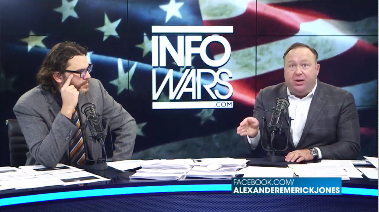 photo image Alex Jones: