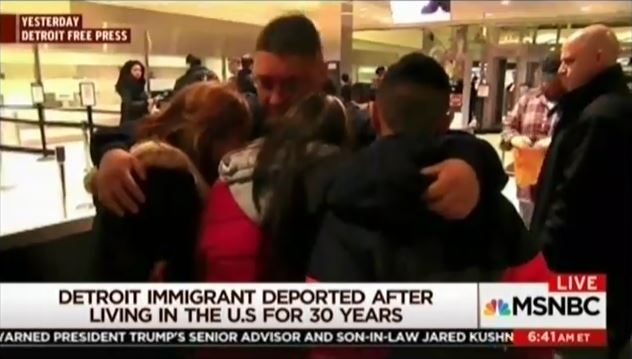 Morning Joe highlights how a 30-year resident of the US was deported