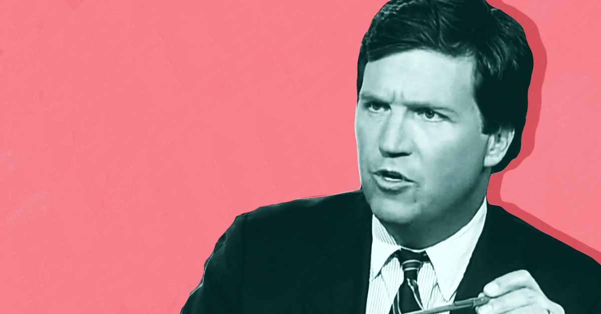 mediamatters.org - Tucker Carlson's wild new talking point is that abortion is somehow a tool of 'corporate' oppression