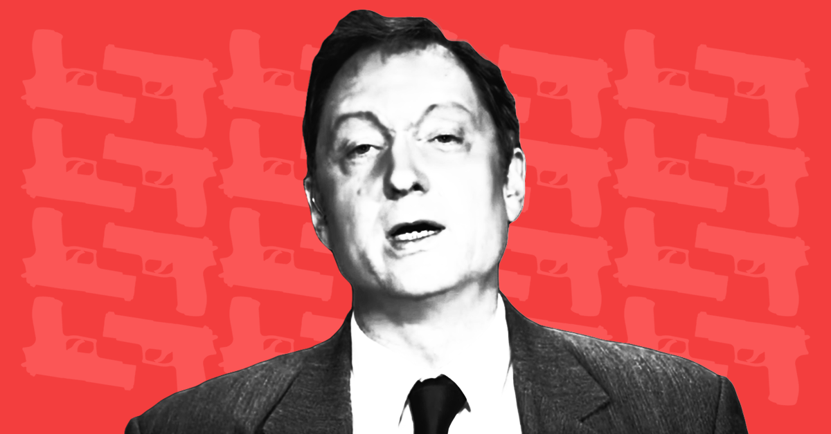 photo image Why is <em>The New York Times</em> publishing discredited gun researcher John Lott?