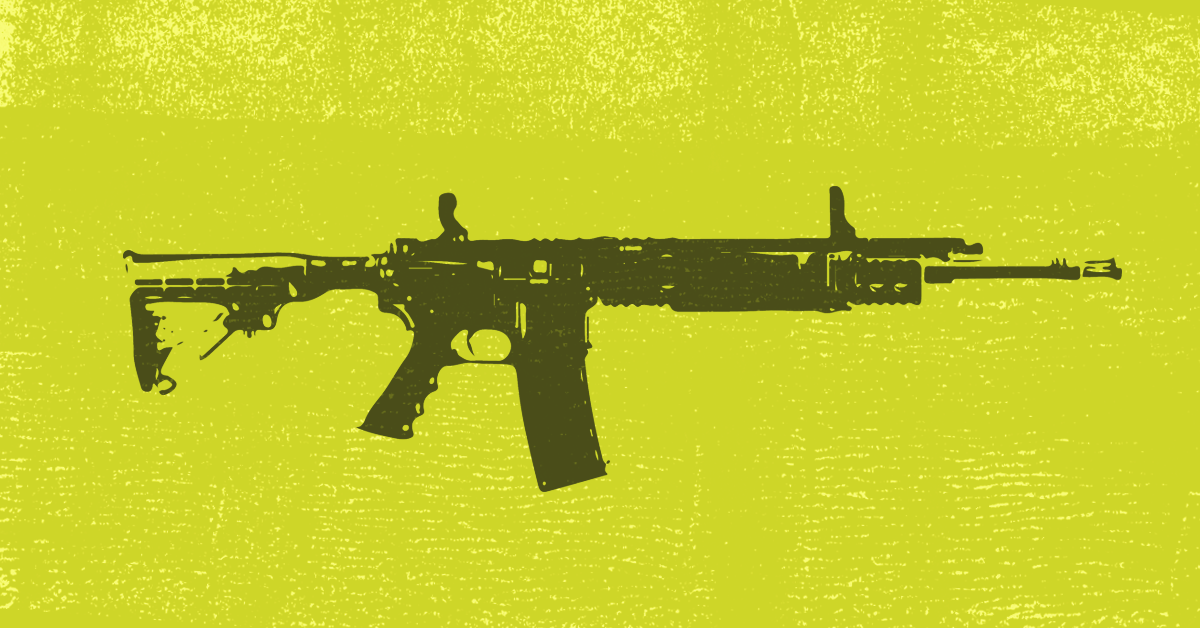 Right-wing media have profited for years from AR-15 giveaways and