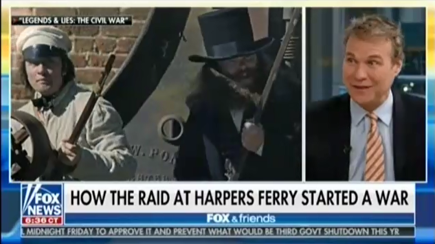 Fox & Friends: The Civil War was started by John Brown and radical abolitionists