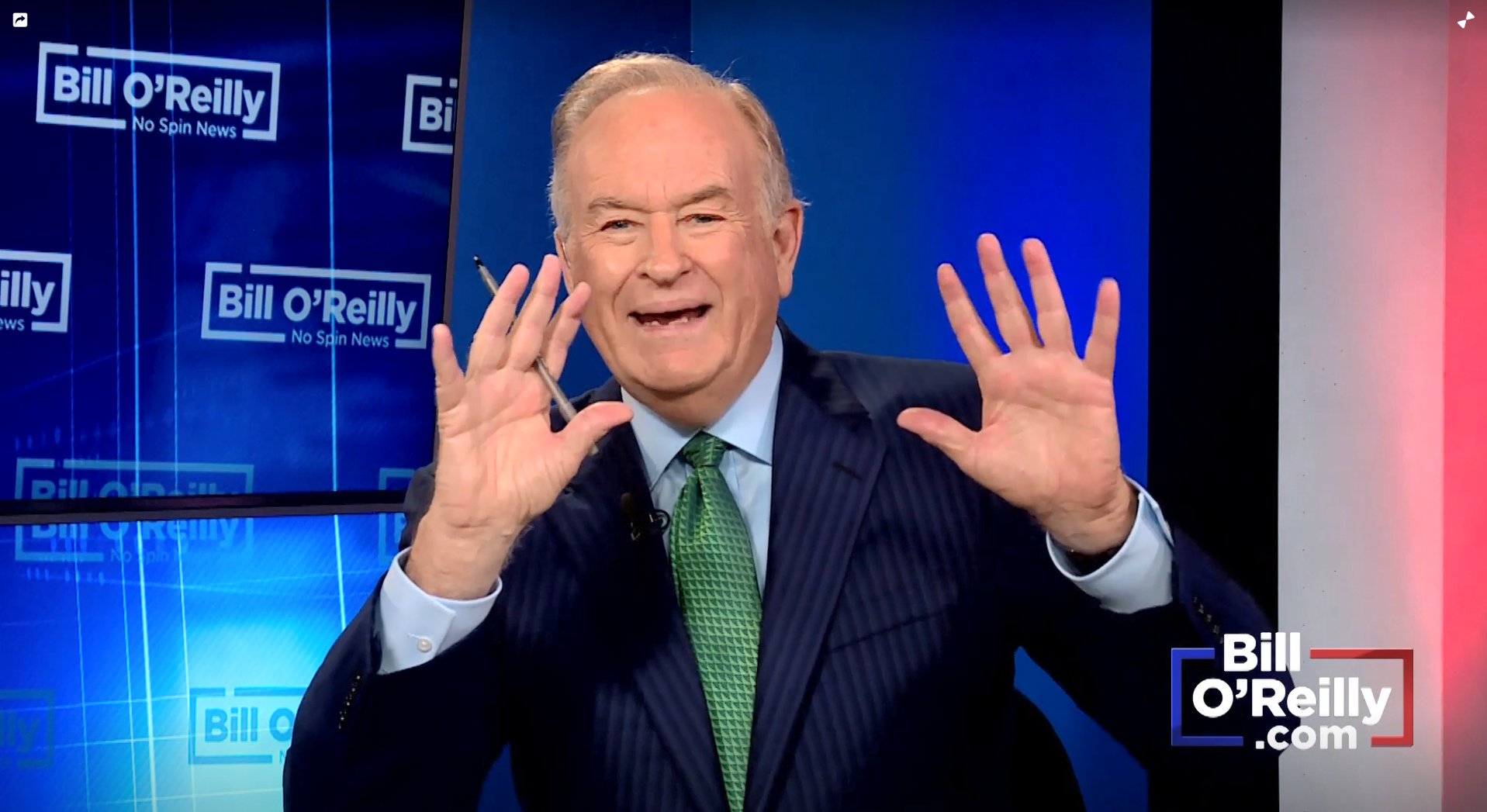 "Bill O'Reilly: ""Skin color really wasn't much of an issue ..."