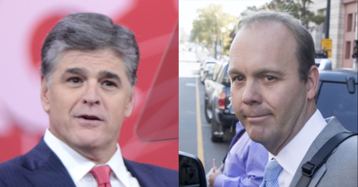 Why doesn't Sean Hannity want to talk about Rick Gates?
