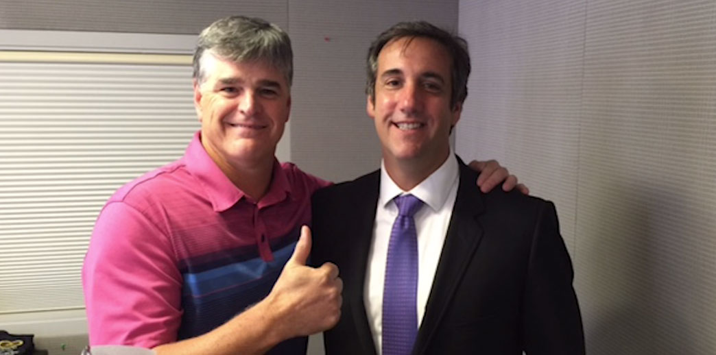 Image result for Hannity and cohen
