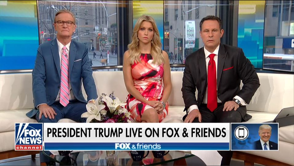 When President Donald Trump called in this morning to his favorite program,  the Fox News morning show Fox & Friends, it seemed inevitable that sooner  or ...