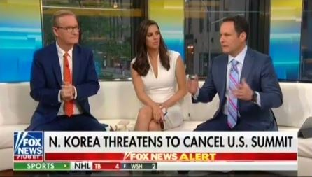 photo image Fox's Brian Kilmeade implores Trump not to tweet about North Korea,