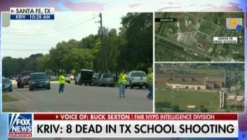 As news of Texas school shooting broke, Fox called for armed guards. After finding out there was an armed guard, Fox called for arming teachers.