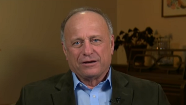 Rep. Steve King's anti-immigrant page cites a white nationalist website