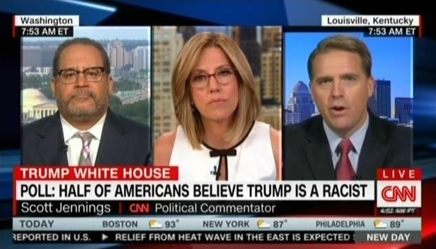 CNN commentator: Americans calling Trump a racist now is the same as Republicans saying Obama was a secret Muslim