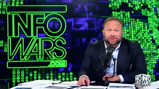 Alex Jones vows to push anti-vax views next time he talks to Trump