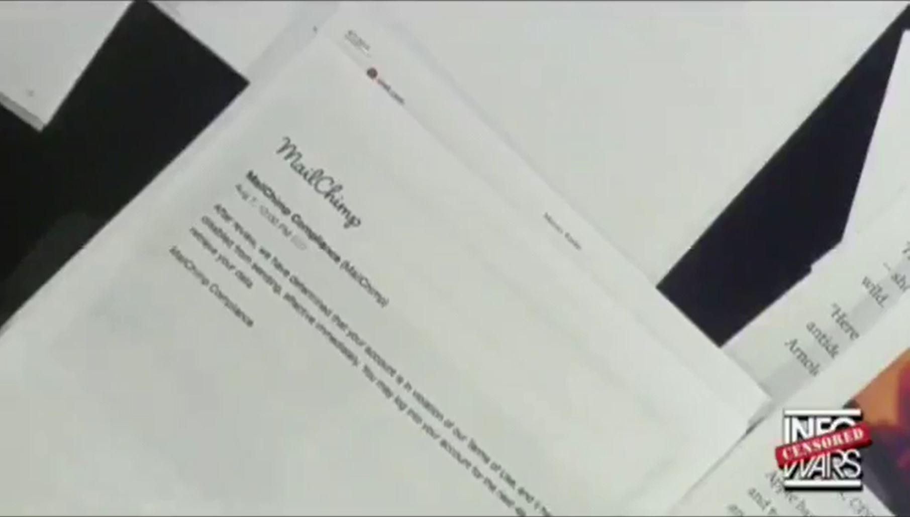 memeorandum: MailChimp confirms that it terminated accounts of Alex ...