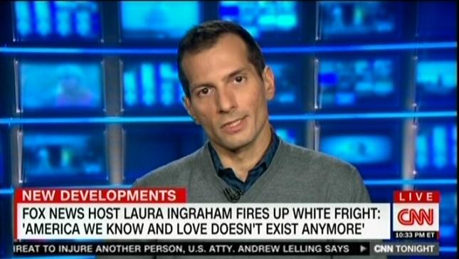 On CNN, Angelo Carusone highlights the rise of white nationalist rhetoric on Fox News