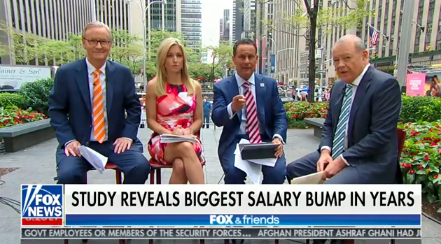 mediamatters.org - Fox claims wages are going up. They're actually falling.