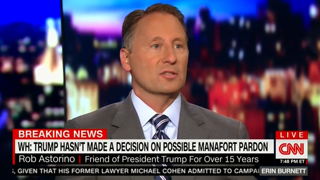 On CNN, new pro-Trump contributor confirms he is contractually forbidden from criticizing Trump