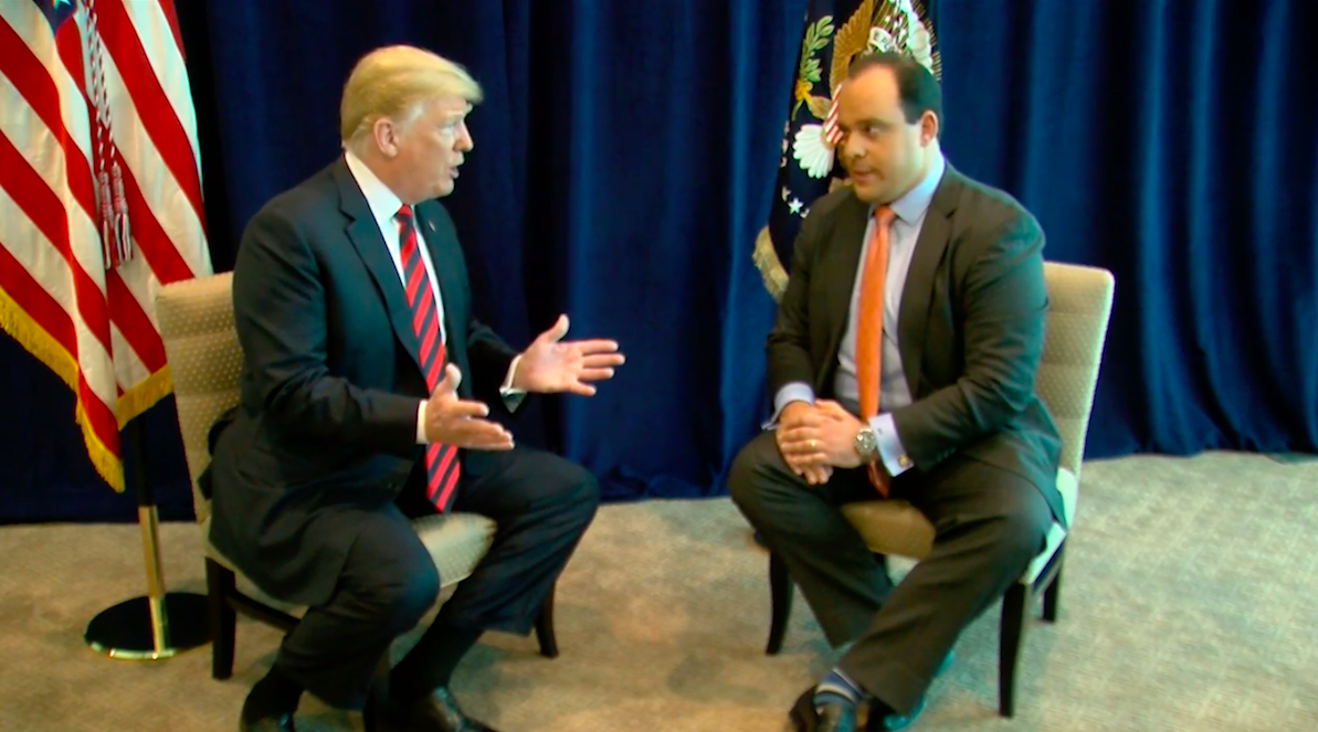 mediamatters.org - In an interview with Sinclair, Trump touts Kavanaugh's 'unblemished record' and says he thinks he will be confirmed