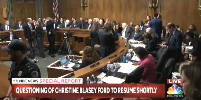 "Chuck Todd: Democrats ""would have more credibility"" in Christine Blasey Ford hearing if they weren't ""coming across as a support group"""