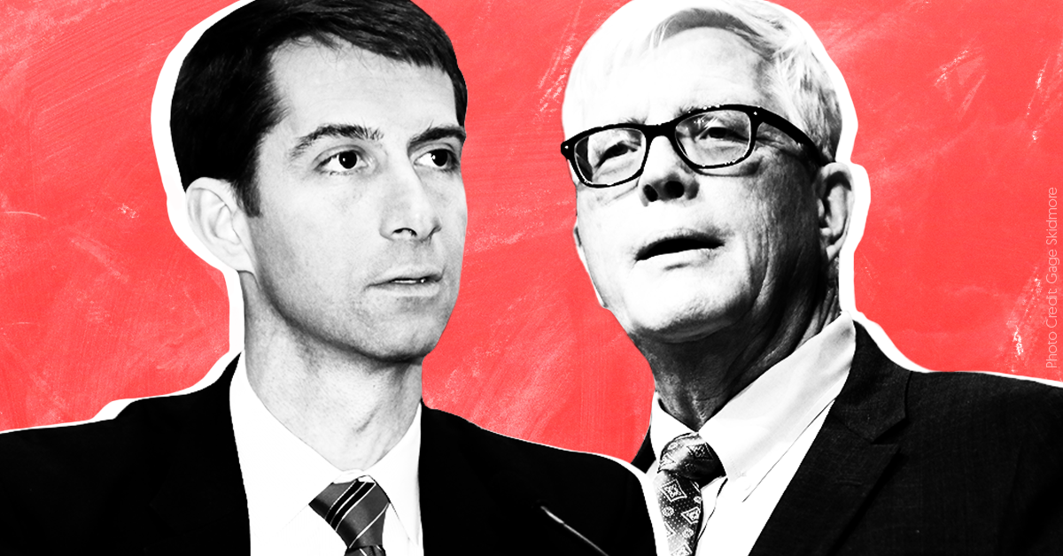 Hugh Hewitt and Sen. Tom Cotton go to the fever swamps in Kavanaugh nomination postmortem