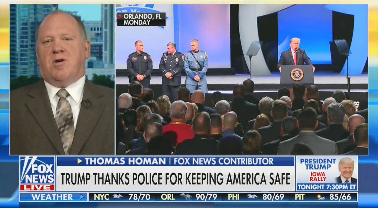 "On Fox & Friends, the former ICE director praises Trump for ""pushing for the rule of law"""