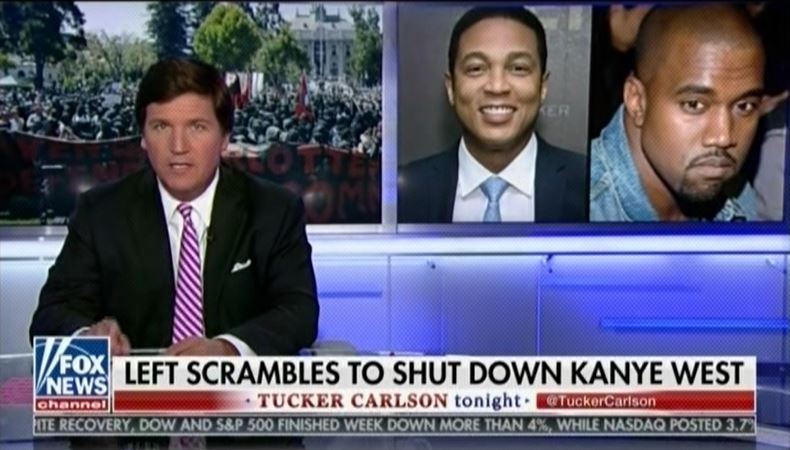 Tucker Carlson compares Don Lemon to 1960's segregationists