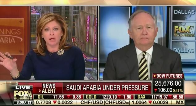 Former US ambassador to Saudi Arabia corrects Fox host after attempted smear of Jamal Khashoggi