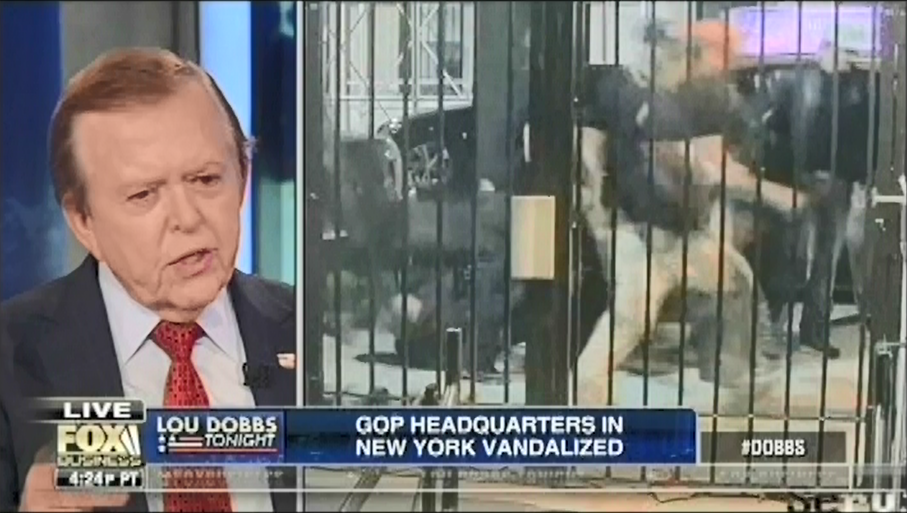Lou Dobbs guest justifies Proud Boy assaults in New York by calling the victims terrorists