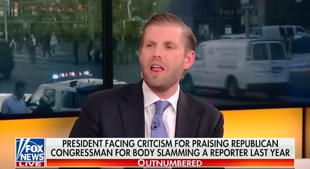Eric Trump on Fox: President Trump
