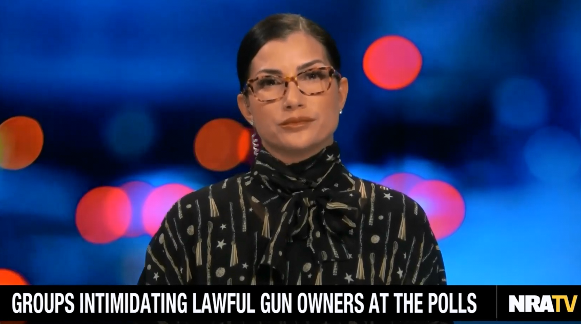 NRA spokesperson Dana Loesch says supporters may need to bring guns to polls to protect themselves from progressives