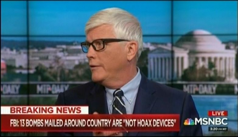"MSNBC's Hugh Hewitt says Trump encouraging violence at his rallies is ""equivalent"" to Mitch McConnell being heckled"