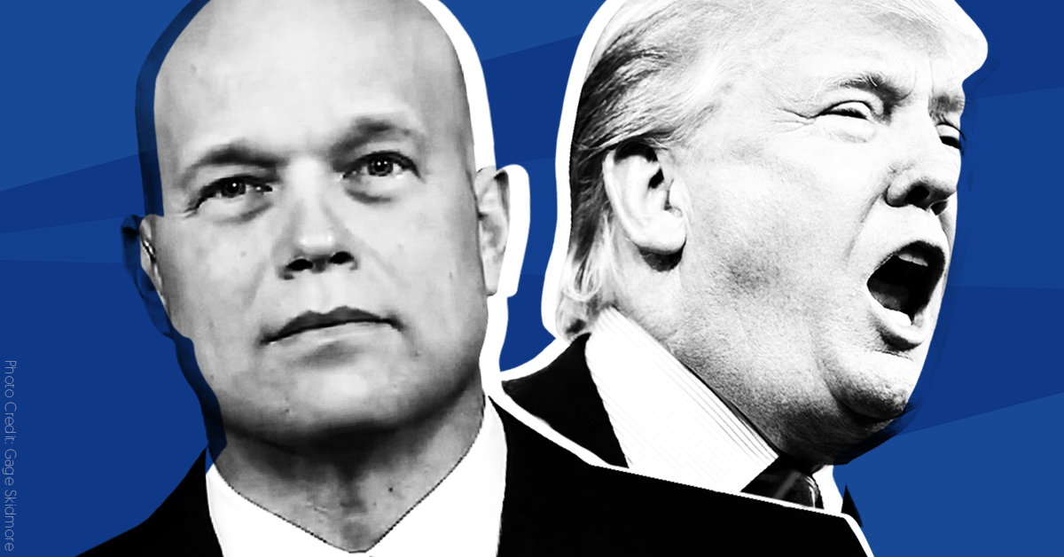 Seven times Trump's new acting attorney general defended him from the special counsel investigation