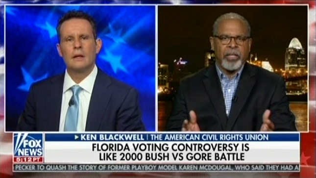 """Fox guest accuses Democrats of """"manufacturing voters"""" in Florida"""