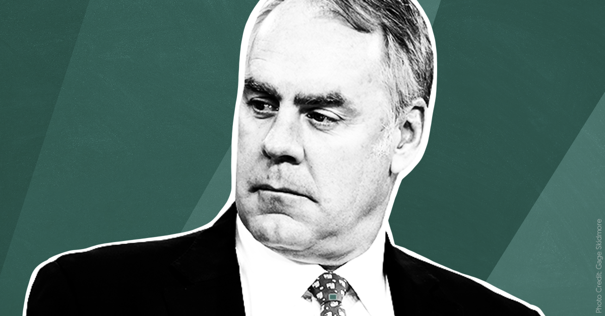 Ryan Zinke cozied up to right-wing media until the bitter end