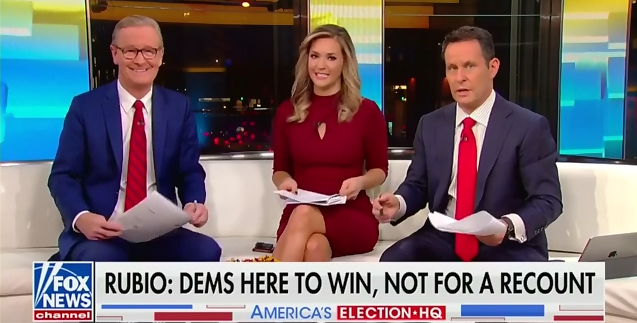 Fox & Friends contradicts itself on Florida vote count