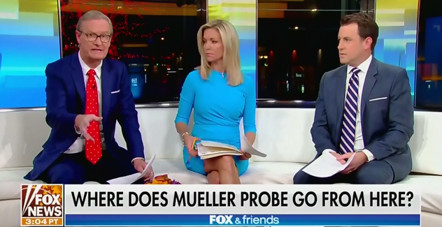 mediamatters.org - After Trump submits written answers to the special counsel, Fox & Friends has a 'concern' about a 'perjury trap or other trap'
