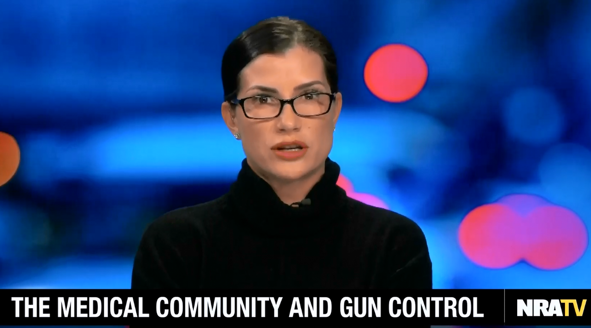 "NRA spokesperson calls pediatricians ""irresponsible"" for pointing out link between firearms and adolescent suicide"