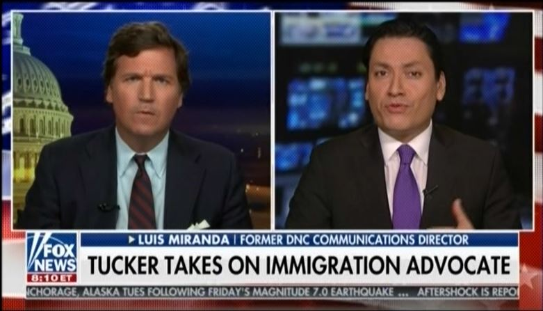 """""""You're dying, we're gonna replace you"""": Tucker Carlson fearmongers about immigrants replacing Americans"""