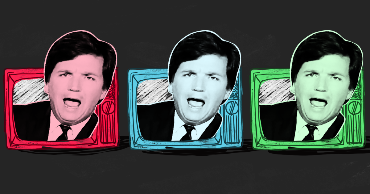 In an unaired segment, Tucker Carlson had a meltdown after a guest exposed his hollow criticisms of the super rich