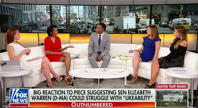 Fox News panel attacks Elizabeth Warren for drinking a beer on