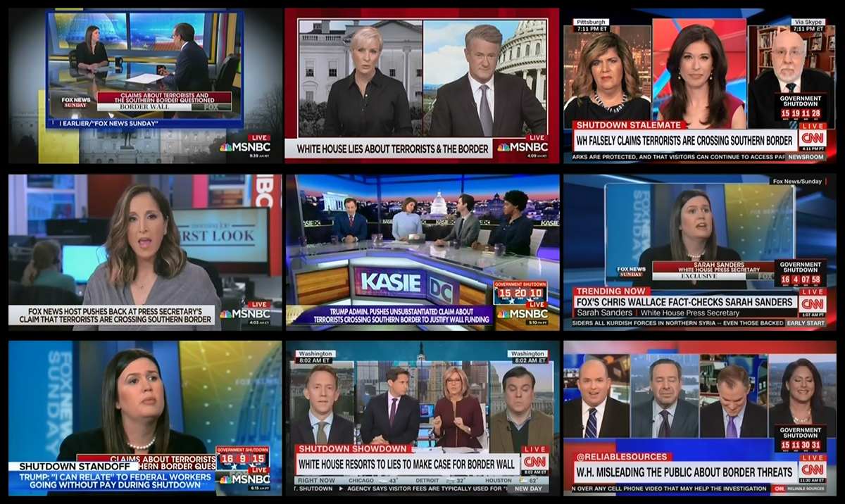 Guess which cable news network isn't talking about Chris Wallace's