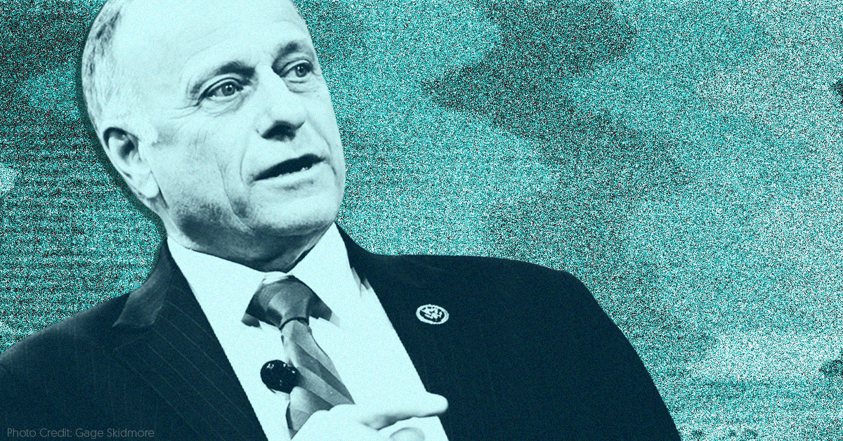 photo image Republican Rep. Steve King embraced white supremacy, and the media had no idea how to cover it