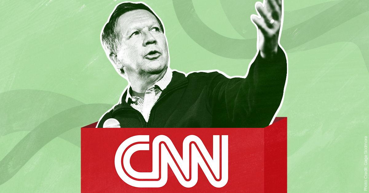 In patently unethical move, CNN hires John Kasich even as he considers presidential bid
