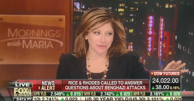 """Fox Business' Maria Bartiromo: """"All these people"""" at the DOJ and the State Department """"are against Donald Trump"""""""