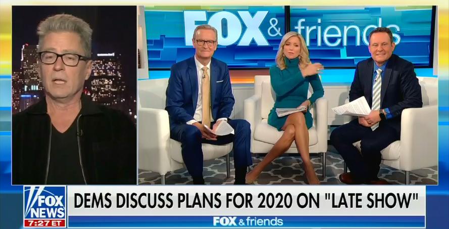 "Fox & Friends guest: Late-night talk shows are ""worse than propaganda"""