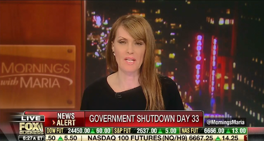 "Fox host admits that Trump ""is owning this shutdown"""