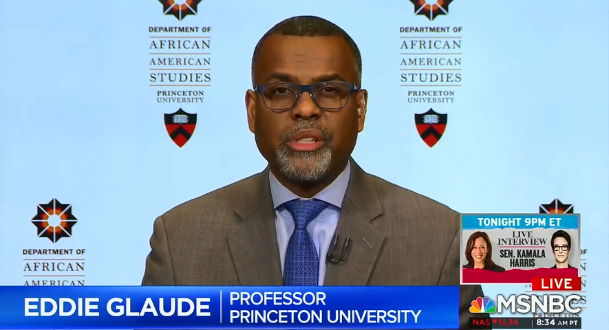 "MSNBC's Eddie Glaude explains the hypocrisy around the Covington Catholic incident: For whom does society allow ""the innocence of childhood?"""